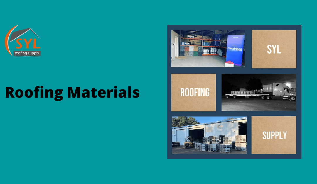 Roofing materials in Orlando and Tampa